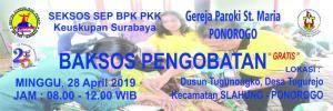 KRK & Baksos SEP 27-28 April 2019